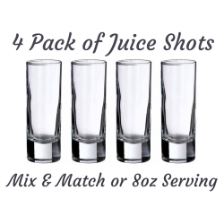 4 Pack Juice Shots